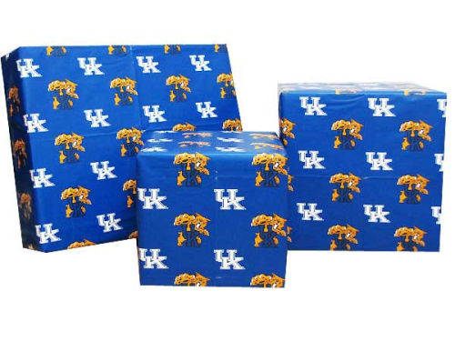 Kentucky Wildcats Gift Wrap