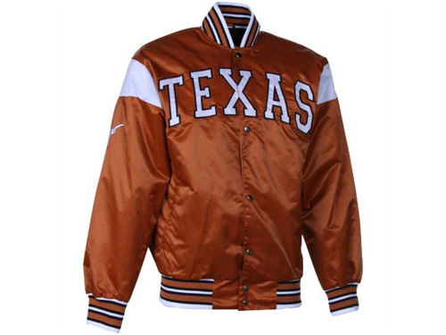 Texas Longhorns NCAA Big League Satin Jacket