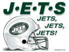 New York Jets Wincraft 5x6 Ultra Decal Bumper Stickers & Decals