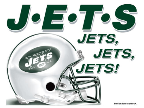 New York Jets Wincraft 5x6 Ultra Decal