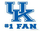Kentucky Wildcats Wincraft 3x4 Ultra Decal Auto Accessories