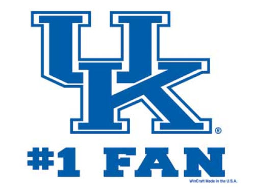Kentucky Wildcats Wincraft 3x4 Ultra Decal