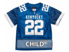 Kentucky Wildcats Haddad Brands NCAA Kids Football Jersey Jerseys