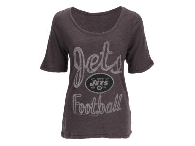 NFL Womens Black Wash Junior T-Shirt