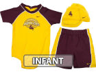 Arizona State Sun Devils Haddad Brands NCAA Infant Boy Creeper Bib Bootie Infant Apparel