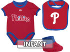 Philadelphia Phillies MLB Infant Triple Play Diaper Set Infant Apparel