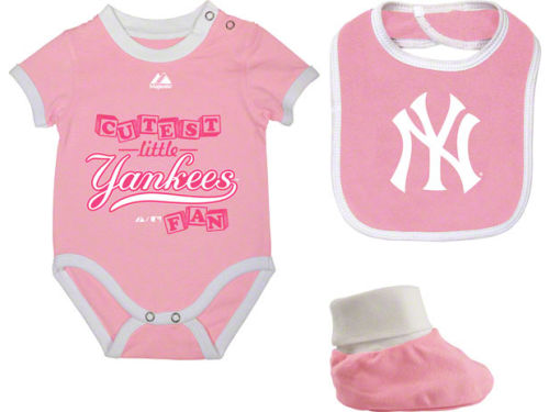 New York Yankees Diaper Set