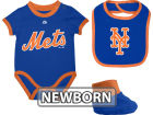 New York Mets MLB Newborn Triple Play Diaper Set Infant Apparel