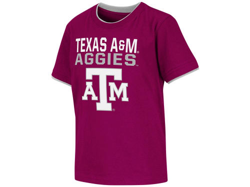 Texas A&M Aggies Colosseum NCAA Kids Ridge Double Layer T-Shirt
