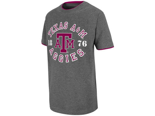 Texas A&M Aggies Colosseum NCAA Youth Champ Double Layer T-Shirt