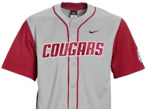 Washington State Cougars NCAA Replica Baseball Jersey Nike