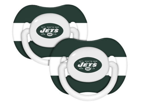 New York Jets NFL Pacifier 2 pack