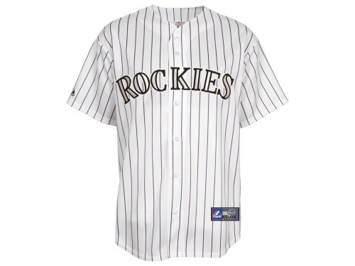 Colorado Rockies Majestic MLB Blank Replica Jersey