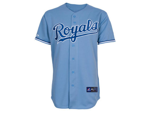 Kansas City Royals Majestic MLB Blank Replica Jersey
