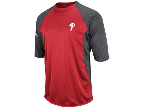 Philadelphia Phillies Majestic MLB TB Feather Weight Tech Fleece
