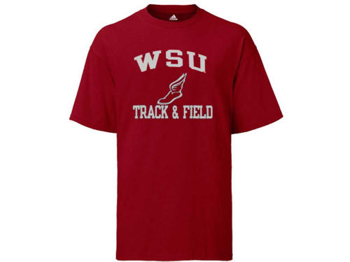 Washington State Cougars adidas NCAA Track And Field T-Shirt