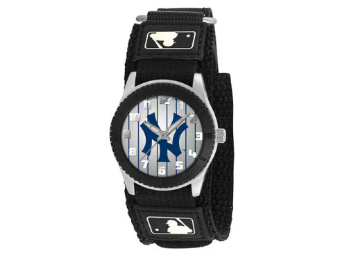 New York Yankees Game Time Pro Rookie Kids Watch Black