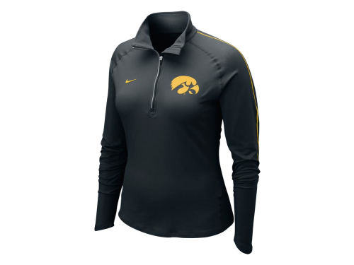 Iowa Hawkeyes Nike NCAA Womens Dri-Fit Element Half Zip Top