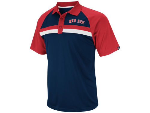 Boston Red Sox Majestic MLB Absolute Speed Synthetic Polo