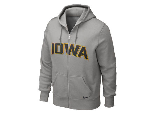 Iowa Hawkeyes Nike NCAA Classic Full Zip Hooded Sweatshirt