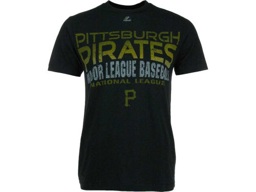 Pittsburgh Pirates Majestic MLB Four Game Sweep T-Shirt