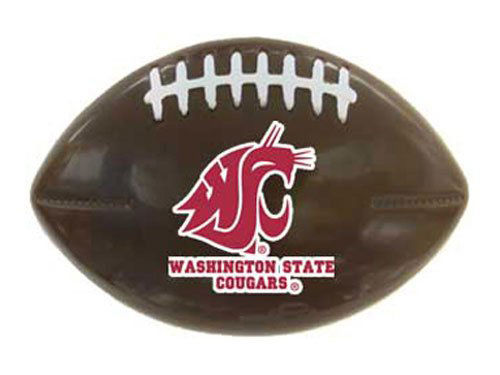 Washington State Cougars Snack Clip Football Logo