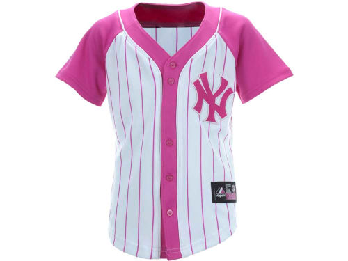 New York Yankees JETER MLB Girls Youth Fashion Replica Jersey