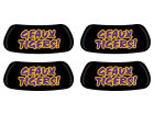 LSU Tigers 2 Pair Eyeblack Sticker Gameday & Tailgate