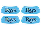 Tampa Bay Rays 2 Pair Eyeblack Sticker Gameday & Tailgate