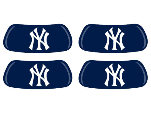 New York Yankees 2 Pair Eyeblack Sticker