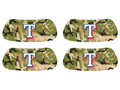 Texas Rangers 2 Pair Eyeblack Sticker