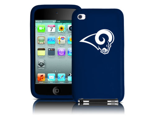 St. Louis Rams iPod Touch 4th Gen. Silicone Skin Tribeca