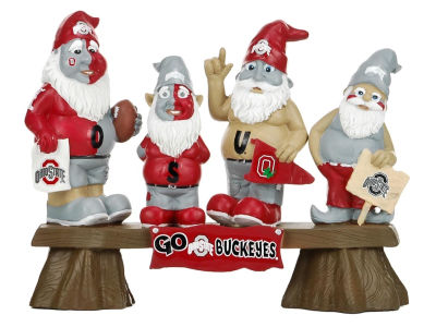 NCAA Fan Gnome Bench