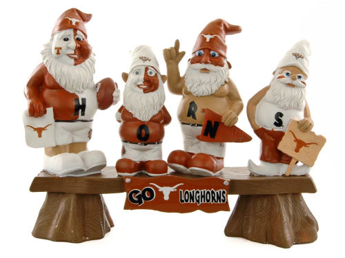 Texas Longhorns NCAA Fan Gnome Bench