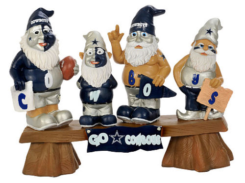 Dallas Cowboys NFL Fan Gnome Bench