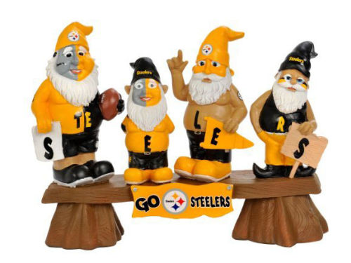 Pittsburgh Steelers NFL Fan Gnome Bench