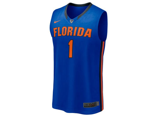 Florida Gators #1 Nike NCAA Twill Basketball Jersey