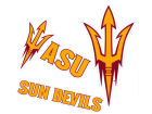 Arizona State Sun Devils Moveable 12x12 Decal Multipack Bumper Stickers & Decals