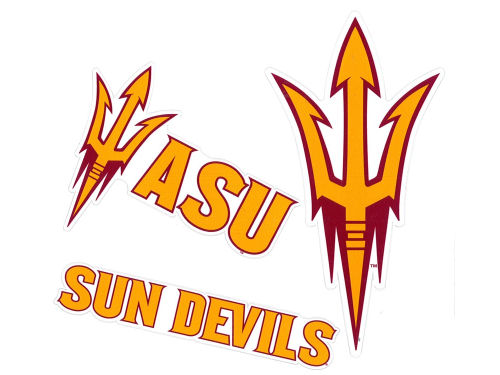 Arizona State Sun Devils Moveable 12x12 Decal Multipack