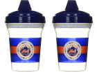 New York Mets MLB Sippy Cup 2 pack Newborn & Infant