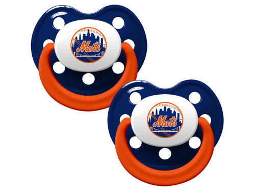 New York Mets 2-pack Pacifier Set