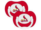 St. Louis Cardinals Pacifier 2 pack Newborn & Infant