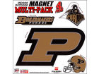 Purdue Boilermakers 12x12 Multipack Magnet Auto Accessories