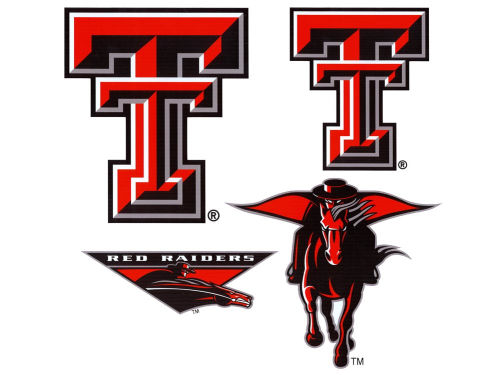 Texas Tech Red Raiders 12x12 Multipack Magnet