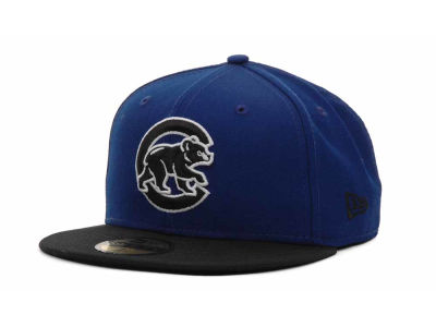 Chicago Cubs MLB BW 2 Tone 59FIFTY Cap Hats