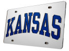 Kansas Jayhawks Laser Tag Auto Accessories