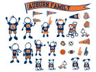 Auburn Tigers Family Decal 28pk Auto Accessories
