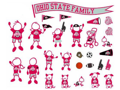 Family Decal 28pk