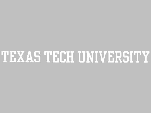 Texas Tech Red Raiders Long Decal