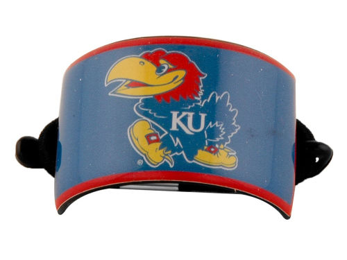 Kansas Jayhawks Curved Ponytail Holder